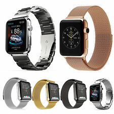 38mm Stainless Steel/Milanese Metal Wrist Band Strap for Apple Watch iWatch