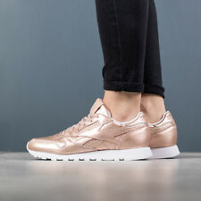 SCARPE DONNA SNEAKERS REEBOK CLASSIC LEATHER MELTED METAL [BS7897]
