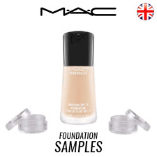 MINERALIZE MOISTURE SPF15 FOUNDATION MAC NC 15 20 25 30 35 - IN - 3ml SAMPLE