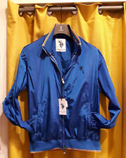 Giubbino impermeabile uomo blu jacket waterproof man US POLO ASSN. SALDI 50%