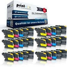 30 x Impresora Cartuchos de tinta para Brother lc-223 XXL Color patronen-easy
