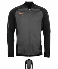 MODA Puma Evo Train Jacket Mens Black/Coral