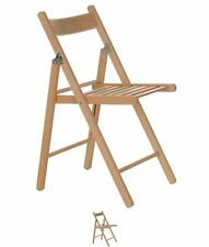SALDI Stanford Home Wooden Folding Chair Wood
