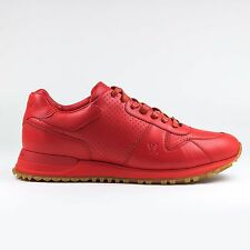 100% Authentic Mens Supreme x Louis Vuitton Run Away Red Sneaker