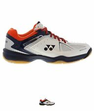 SALDI Yonex Power Cushion 35 Badminton Trainers Mens White/Navy