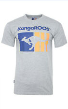 Kangaroos Chemise T-shirt pour hommes casual-chemise gris t8199 200