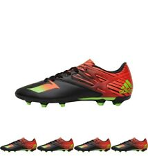 FASHION adidas Mens MESSI 15.3 FG / AG Football Boots Core Black/Solar Green/So