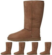 OCCASIONE UGG Womens Classic Tall Boots Chestnut UK 3.5 Euro 36
