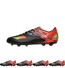 FASHION adidas Mens MESSI 15.2 FG / AG Football Boots Core Black/Solar Green/So