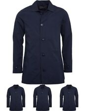 """BRAND French Connection Mens Mac 2 Jacket Marine Blue Small Chest 36-38"""""""