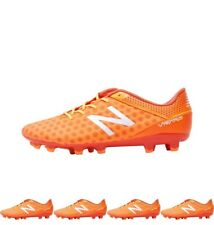 MODA New Balance Mens Visaro Pro FG Football Boots Lava/Fireball/Impulse/White