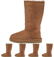 OCCASIONE UGG Girls Classic Tall Boots Chestnut UK 1 Euro 32