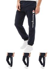 MODA Champion Mens Logo Sweat Pants Navy Small Waist 30""