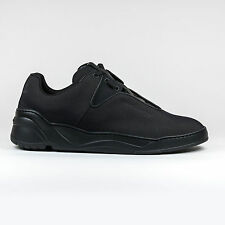 100% Authentic NEW Mens Dior Homme Triple Black Runner Low Top Sneakers Trainers