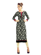 Sinina Multi Color Cotton Long Kurtis -Moments15