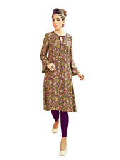 Sinina Multi Color Cotton Long Kurtis -Moments16