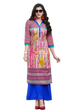 Sinina Multi Color Designer Cotton Printed Work Kurti-Tbeauty201