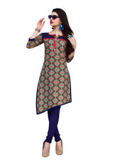 Sinina Multi Color Designer Cotton Printed Work Kurti -Tbeauty203