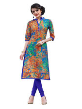 Sinina Multi Color Designer Cotton Printed Work Kurti -Tbeauty206