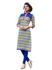 Sinina Multi Color Designer Cotton Printed Work Kurti -Tbeauty208
