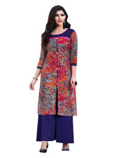 Sinina Multi Color Designer Cotton Printed Work Kurti -Tbeauty210