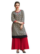 Sinina Multi Color Designer Cotton Printed Work Kurti -RLook105