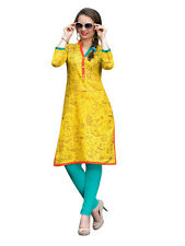 Sinina Multi Color Designer Cotton Printed Work Kurti -RLook108