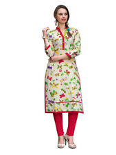 Sinina Multi Color Designer Cotton Printed Work Kurti -RLook112