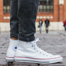 SCARPE UOMO SNEAKERS CONVERSE CHUCK TAYLOR ALL STAR LEATHER [132169C]