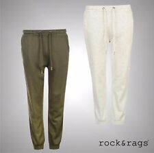 Ladies Branded Rock And Rags Casual Sweat Pants Cuffed Jogging Pants Size S-XL