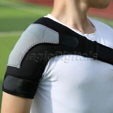 New Elastic One Shoulder Support Strap Brace Arthritis Injury Dislocation Pain