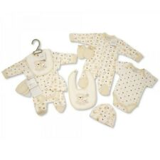 Baby Clothes Neutral  5 Piece Gift set  layette  sleepsuit vest   NB - 6 months