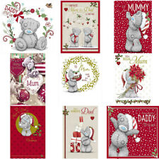 Me to You Bear Mum Mummy Dad Daddy Christmas Cards