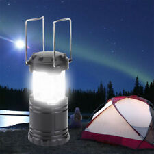 30 LED Portable Camping Torch Battery Operated Lantern Night Light Tent Lamp 10W
