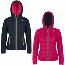 K-WAY LILY THERMO PLUS DOUBLE GIACCA DONNA Imbottita Reverse AUT/INV KWAY 956ttc