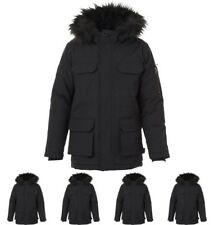 FASHION Bellfield Junior Oversized Arctic Parka Black 6-7 Years 116cm Height Si