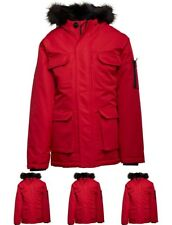 FASHION Bellfield Junior Nimrod Parka Red 6-7 Years 116cm Height Size 6