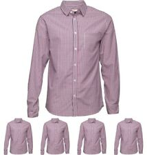 """OFFERTA Onfire Mens Long Sleeve Yarn Dyed Checked Shirt Checked Small Chest 36"""""""