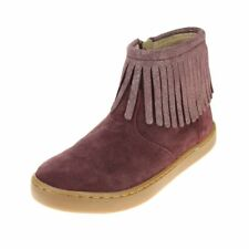 Shoo Pom Play Fringe Girls Berry-Platine Boot