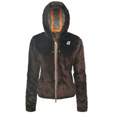 K-WAY LILY PELUCHE BEAVER Giacca DONNA Caldo Eco Pelo Fullzip AUT/INV KWAY K51ks
