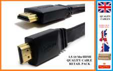 Premium HDMI Cable v2.0 Gold High Speed HDTV Ultra HD HD 2160p 3D 1M-10 Meters