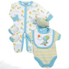 Baby Boy Clothes 5 Piece Gift set layette Watch Me Grow Newborn 0-3m 3-6months