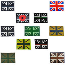 Union Jack Velcro Patch UK GB Great Britain Police Fire Force Ambulance Military
