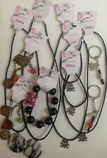 Pirate jewellery - skull & crossbones, necklace, wristband or keyring