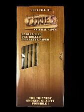 THE ORIGINAL SMOKE CONES NATURAL RICE PRE ROLLED PAPER AVAIL 9 SZ QTY BOX CARTON
