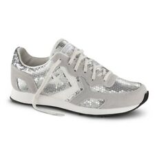 CONVERSE ALL STAR Scarpe Donna Auckland Racer Ox Sequins argento