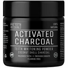 Pro Teeth Whitening - Activated Charcoal Natural Teeth Whitening Powder