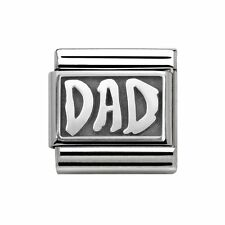 Nomination Italy Nominations Silver My Family Dad Capital Classic Charm Tool
