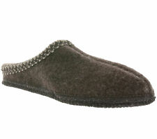 Haflinger Original Urban Zapatos Mens House Zapatillas Marrón antideslizante