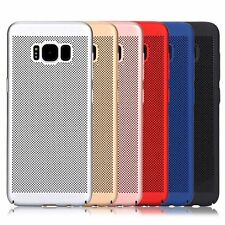 NEW Slim Mesh Air Holes Breathable Protect Case Cover Huawei P8 P9 P10 Lite 2017